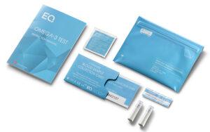 Obsah Eqology Omega3 Test Kitu